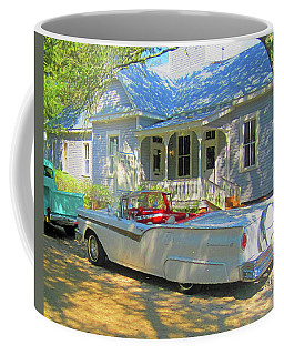 Classic 57 Ford Fairlane Convertible Coffee Mug by Rebecca Korpita
