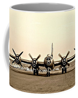 Classic B-29 Bomber Aircraft Coffee Mug