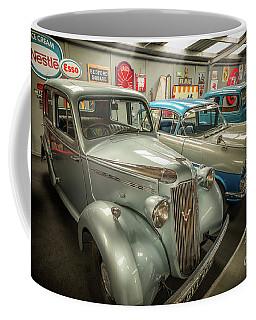 Coffee Mug featuring the photograph Classic Car Memorabilia by Adrian Evans