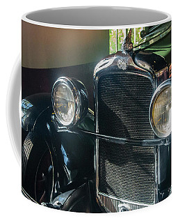 Coffee Mug featuring the photograph Classic Car Museum, Asheville, Nc by Richard Goldman