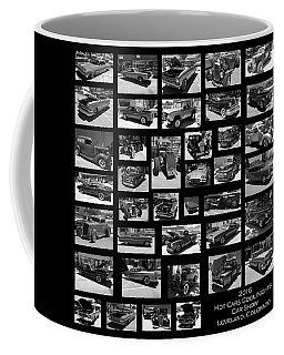 Coffee Mug featuring the photograph Classic Cars And Trucks by Angie Tirado