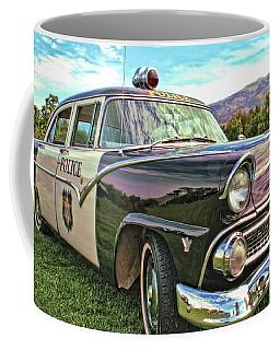 Classic Cop Car Coffee Mug