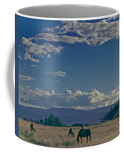 Classic Country Scene Coffee Mug
