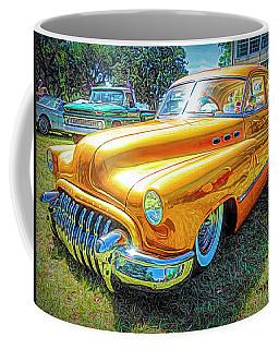 Classic Fifties Buick - Cruising The Coast Coffee Mug