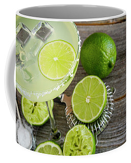 Classic Lime Margarita Coffee Mug by Teri Virbickis