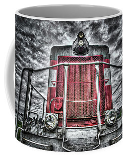 Coffee Mug featuring the photograph Classic Locomotive by Spencer McDonald