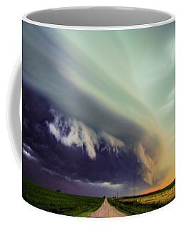 Classic Nebraska Shelf Cloud 024 Coffee Mug