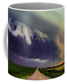 Classic Nebraska Shelf Cloud 024 Coffee Mug