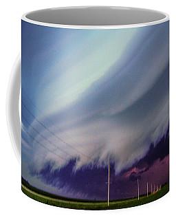 Classic Nebraska Shelf Cloud 028 Coffee Mug