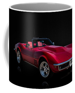 Classic Red Corvette Coffee Mug