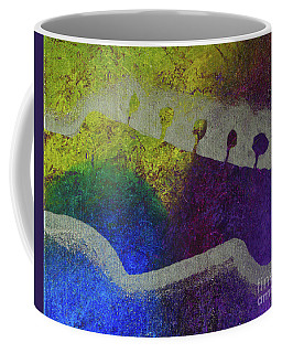 Coffee Mug featuring the drawing Classic Rock by Melissa Goodrich