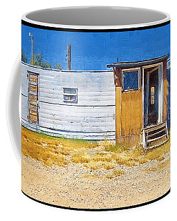 Coffee Mug featuring the photograph Classic Trailer by Susan Kinney