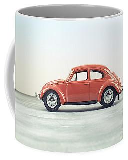 Classic Vw Bug Red Coffee Mug