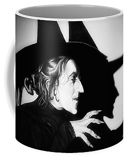Classic Wicked Witch Of The West Coffee Mug by Fred Larucci