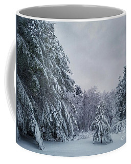 Classic Winter Scene In New England  Coffee Mug