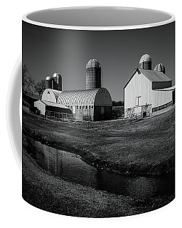 Coffee Mug featuring the photograph Classic Wisconsin Farm by Viviana  Nadowski