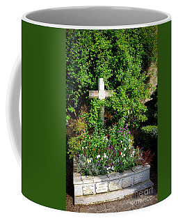 Claude Monet Grave In Giverny Coffee Mug by Olivier Le Queinec