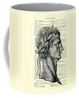 Claudius Caesar Black And White Portrait Coffee Mug