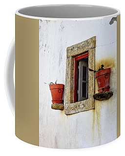 Clay Pots In A Portuguese Village Coffee Mug by Marion McCristall