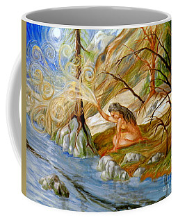 Clay Woman Coffee Mug