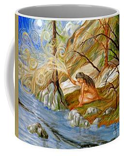 Clay Woman Coffee Mug