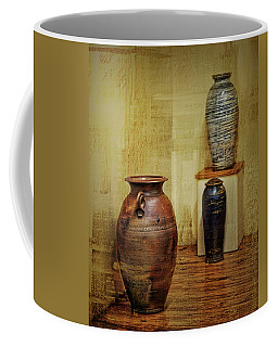 Clay - Wood Coffee Mug