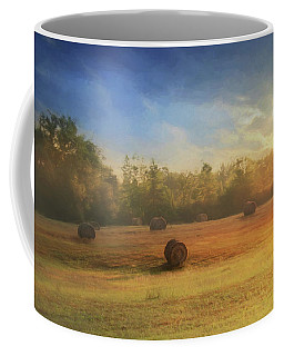 Coffee Mug featuring the photograph Clayton Morning Mist by Lori Deiter