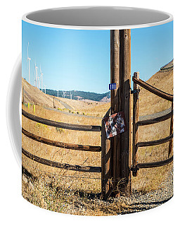 Clean Power And Old Ranch Gates Coffee Mug
