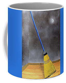 Cleaning Out The Universe Coffee Mug