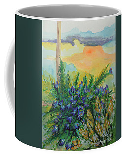 Coffee Mug featuring the painting Cleansed by Holly Carmichael