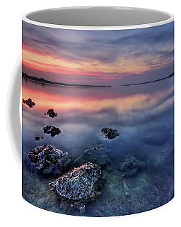 Clear Blue Morning Coffee Mug