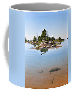 Coffee Mug featuring the painting Clear Contentment by Kenneth M Kirsch
