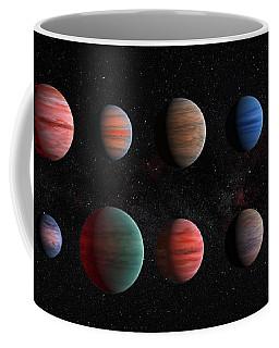 Clear To Cloudy Hot Jupiters Coffee Mug