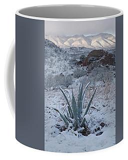 Clearing Desert Snowstorm Coffee Mug