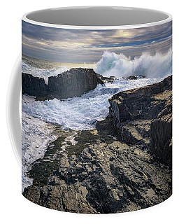 Clearing Storm At Bald Head Cliff Coffee Mug by Rick Berk