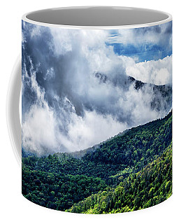 Coffee Mug featuring the photograph Clearing Storm Highland Scenic Highway by Thomas R Fletcher