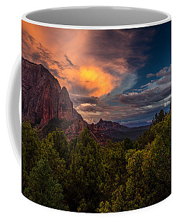 Clearing Storm Over Zion National Park Coffee Mug