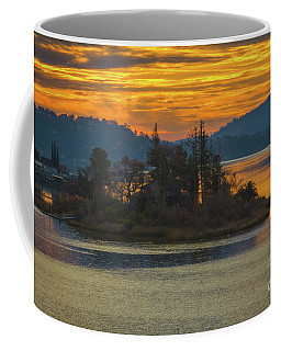 Clearlake Gold Coffee Mug by Mitch Shindelbower