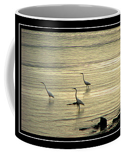 Coffee Mug featuring the photograph Clearwater Beach by Carolyn Marshall