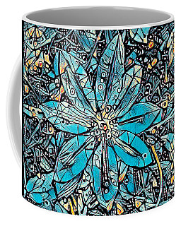Clematis In Blue Fantasia Coffee Mug