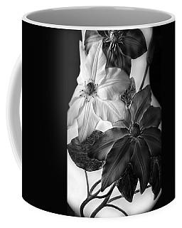 Clematis Overlay Coffee Mug
