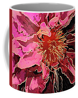 Clematis Up Close And Personal Coffee Mug