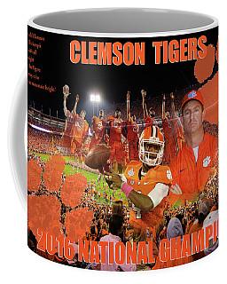 Clemson National Champs Coffee Mug