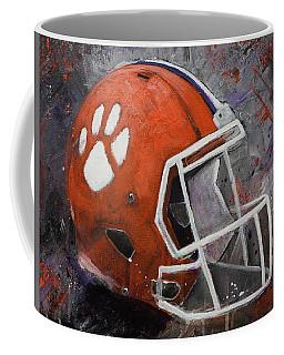 Clemson Tigers Football Helmet Original Painting Coffee Mug