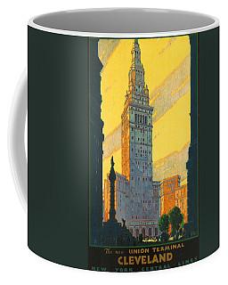 Cleveland - Vintage Travel Coffee Mug