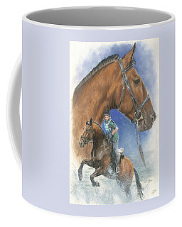 Coffee Mug featuring the painting Cleveland Bay by Barbara Keith