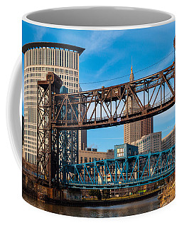 Cleveland City Of Bridges Coffee Mug