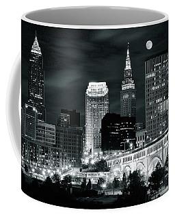 Cleveland Iconic Night Lights Coffee Mug