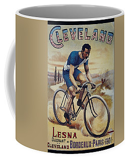 Cleveland Lesna Cleveland Gagnant Bordeaux Paris 1901 Vintage Cycle Poster Coffee Mug
