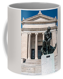 Cleveland Museum Of Art, The Thinker Coffee Mug